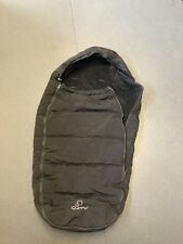 Quinny Buzz Cosy Toes winter foot muff ' Rocking Black' With Protective Bag