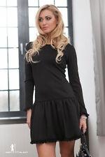 Cowl Neck Skater Short/Mini Regular Size Dresses for Women