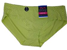 Maidenform Sweet Nothings Hipster Softer Side of Sexy Panties Lime Polka Dot XL8