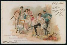 Circus Barnum & Bailey Souvenir dancer original old 1900s postcard