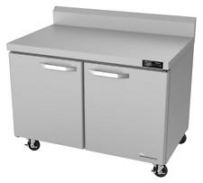 Blue Air Two Door Commercial 60 Undercounter Worktop Refrigerator Blur60 Wt Hc
