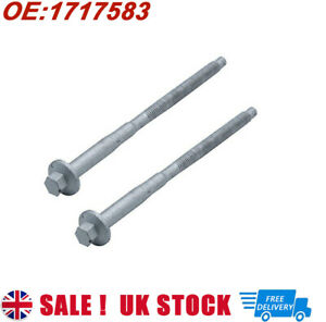 2Pcs FOR FORD TRANSIT MK7 MK8 RANGER INJECTOR CLAMP BOLTS SCREW (2006-ONWARDS)