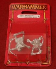 Warhammer Fantasy Bretonnian Squires With Bows New In Blister Pack Metal OOP C