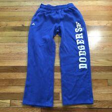 Kids Majestic Los Angeles LA Dodgers Blue Sweatpants Size Large 14/16 MLB
