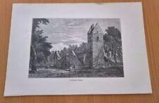 Architecture Black Engraving Art Prints