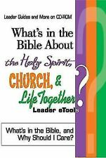 What's in the Bible About the Holy Spirit, Church, and Life Together Leader eToo
