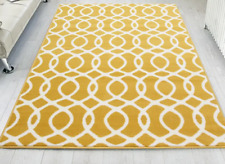 Tufted Ochre/White Rug