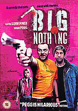 Big Nothing (DVD, 2007) Black comedy Simon Pegg David Schwimmer