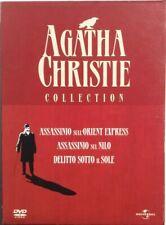 Dvd Agatha Christie Collection - Cofanetto digipack 3 dischi Usato