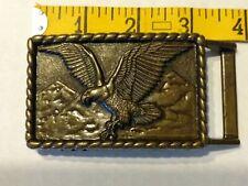 Vintage Brass Flying eagle belt buckle