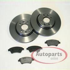 Dacia Dokker - Bremsscheiben Bremsen Bremsbeläge für vorne die Vorderachse*