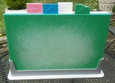 Used Joseph Joseph Large Colour Coded Index Chopping Board, Set of 4