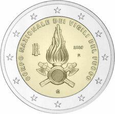 2 EURO COMMEMORATIVA ITALIA 2020 - CORPO NAZIONALE VIGILI DEL FUOCO - FDC UNC -