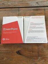 Microsoft PowerPoint 2013, Product Key Card/PKC/Euro avec TVA-FACTURE