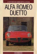 Book - Alfa Romeo Duetto - Spider 1600 1966-1990 - Moto Hanno Fatto Storia