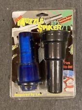 Vintage Paintball Gun Marker Muzzle Spiker Barrel Blocking Safety System