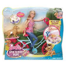 Barbie Puppy Mystery Doll & Bike