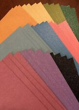 Set of 40 Glitter Sheets DARICE 12x12 Heavyweight Sparkle Cardstock NWT$60 Paper