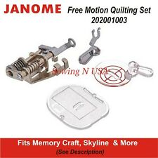 Janome Free Motion Quilting Set 202001003 See Description For Models