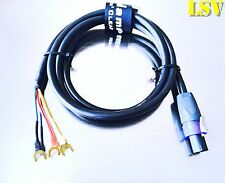 NEW Van Damme  Hi-Level Subwoofer Audio Cable for REL & BK- 2 Meters