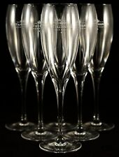 MOET CHANDON CHAMPAGNE IMPERIAL FLUTES X 6 NEW IN BOX