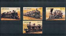 Grenada 1996 MNH Trains 4v Set Railways Reingold Züge Treni Chemin de Fer Stamps