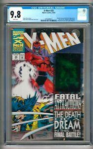 """X-Men #25 (2004) CGC 9.8  White Pages  Nicieza - Kubert  """"Gambit"""" Hologram"""