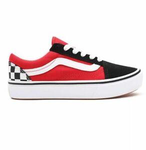 Vans OLD SKOOL COMFYCUSH - VN0A4UHA35U1 BLACK RED