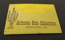 Vintage Collectible Pin Button Arizona Gun Collectors Association Badge Pin