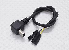 GoPro Hero 3 FPV USB to AV 200mm LEAD CABLE for Fatshark, ImmersionRC & other TX