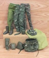 Multi Brand / Unbranded Vintage Style Mixed Lot of Green G.I. Joe Accessories