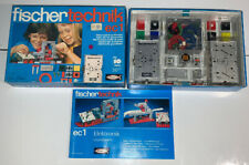 Fischertechnik EC1 Electronics Basic Box With Original Manual
