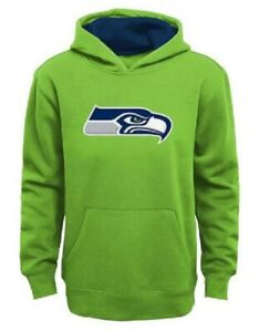 Seattle Seahawks Youth Boys Primary Logo Pullover Hoody Sweatshirt