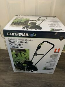 Earthwise TC70125 12.5-Amp 16-Inch Corded Electric Tiller Cultivator Green