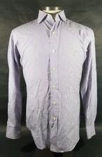 Polo by Ralph Lauren Purple/Blue/Black/White Stripe Shirt - Size 15-33 #00028