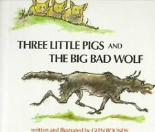 Three Little Pigs and the Big Bad Wolf-ExLibrary