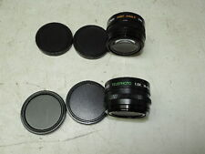 Bescor Video Telephoto 1.5X Hi-Quality Lens S7 49mm & 0.6x S7 52mm Wide Angle