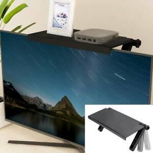 2020 Multifunction Durable TV Computer Rack Screen Top Shelf Storage Adjustable