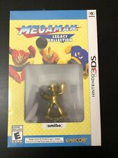 Mega Man Legacy Collection Collectors Edition Gold Amiibo Sealed Nintendo 3DS