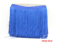 Tassel Fringe Trim 20cm Drop costume furniture Assorted Colours 10 Meter