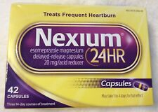 Nexium 24HR 20mg Acid Reducer Capsules #42,exp: 08/2021.