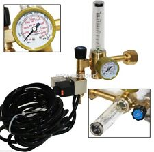 2x Hydroponics CO2 Regulator Flow Meter Control Extoic Injection System