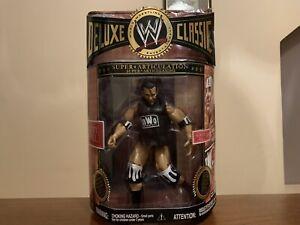 WWE JAKKS DELUXE CLASSIC SERIES 03 SCOTT HALL + RING SKIRT BOXED RARE!