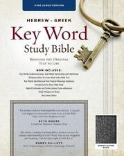 Key Word Study Bibles: Key Word Study Bible KJV : Bonded Black (2008,...