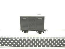 Egger-Bahn 2202 gedeckter Güterwagen, grau, sehr gut erhalten! ohne OVP