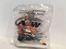 VTG A&W Hockey Christmas Ornament NIP Sealed #56 Skates Bear Tree Canada