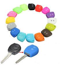 Silicone Remote 2 Button Key Case Fob Cover For Suzuki SX4 Swift Vitara