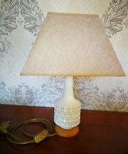 Meissen Porzellan Lampe von Vase gemacht in weiß gesamte H 46cm