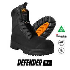DuraDrive Men's CSA Defender 8 in. Nylon Waterproof Composite Toe Work Boot