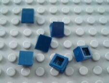 New Lego Lot of 6 Dark Blue 1x1x2/3 Mini Slopes Part and Pieces